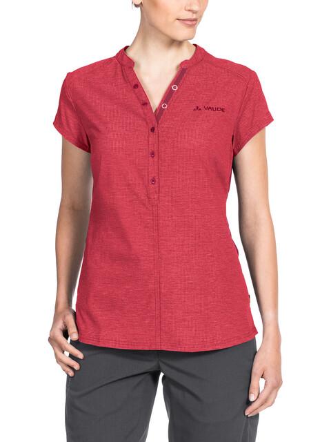 VAUDE Turifo Shirt Women red cluster